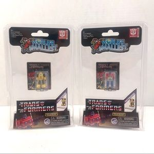 2 World's Smallest Transformers Brand New Sealed